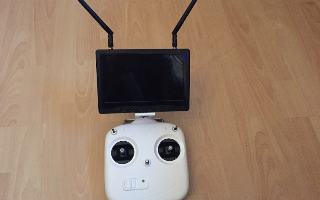 Review: DJI Phantom 2 Monitor Mount
