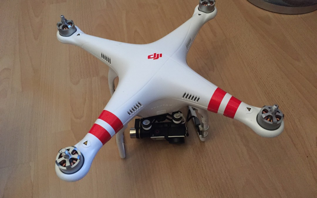 Nutzung von Drohnen im Einsatz der Feuerwehr