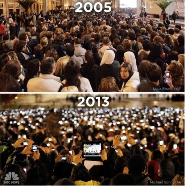 Papstwahl 2005 vs. 2013