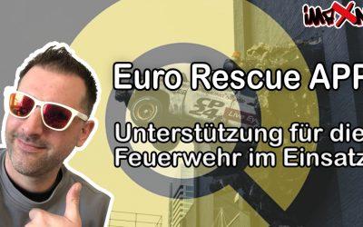 Euro Rescue App – Unterstützung für die Feuerwehr im Einsatz